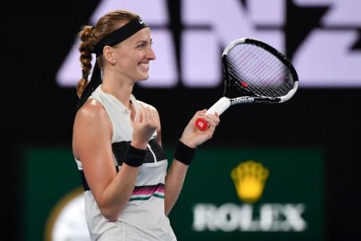 Open d'Australie: première finale à Melbourne pour Kvitova, tombeuse de Collins