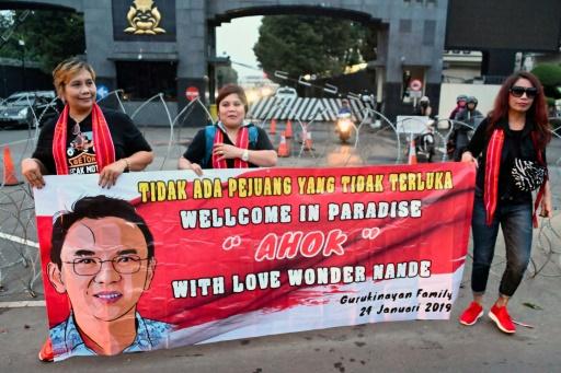 Indonésie: l'ex-gouverneur de Jakarta libéré de prison après une peine pour blasphème