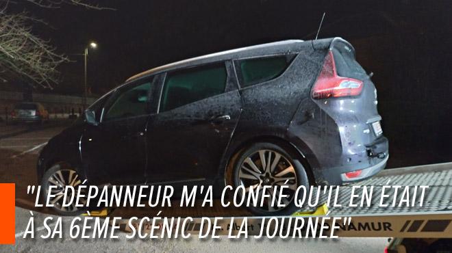 Plusieurs Renault tombent en panne simultanément avec l'offensive hivernale: