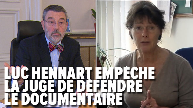 Bras de fer entre le président du tribunal de première instance et la juge d'instruction Anne Gruwez à propos du film