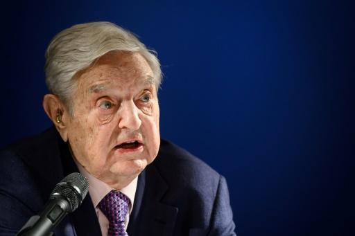 Soros s'en prend à la Chine dans son traditionnel discours de Davos