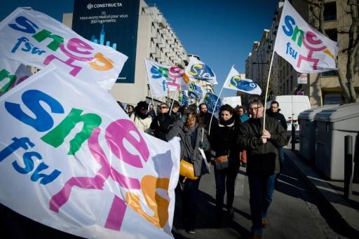 Professeurs collèges/lycées: grève en demi-teinte à Paris et en régions