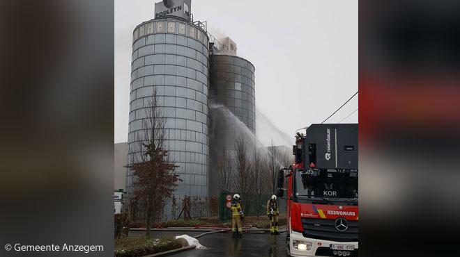 L'explosion dans une entreprise à Anzegem a fait 1 mort et 4 blessés graves