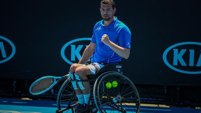 Open d'Australie: Joachim Gérard vainqueur du double messieurs en fauteuil roulant