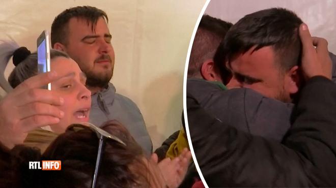 Scène poignante en Espagne: de nombreuses personnes chantent et prient pour réconforter les parents du petit Julen