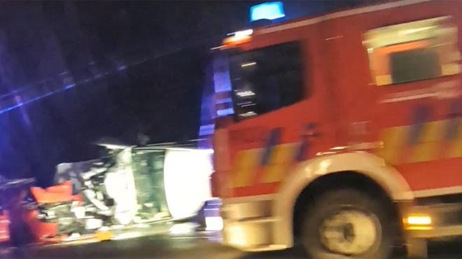 Deux personnes décèdent dans un accident sur la E40 à hauteur de Blegny