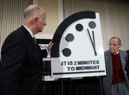 L'horloge de l'apocalypse reste à minuit moins 2