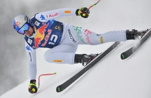 Ski: l'Italien Dominik Paris remporte la descente de Kitzbühel pour la 3e fois