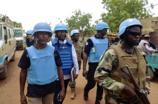 Mali: deux Casques bleus tués par une mine dans le centre du pays