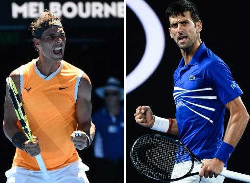 Open d'Australie: Djokovic-Nadal, finale entre géants