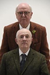 Coup d'envoi de la Brafa 2019, entre Gilbert & George et une