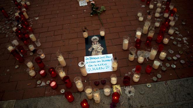 Mort du petit Julen en Espagne: l'enfant serait décédé le jour de sa chute