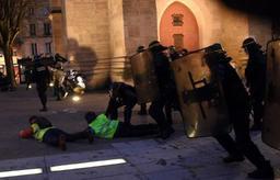Gilets jaunes - Quelque 69.000 manifestants samedi en France, contre 84.000 la semaine dernière