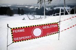 Le centre de ski alpin d'Ovifat fermé