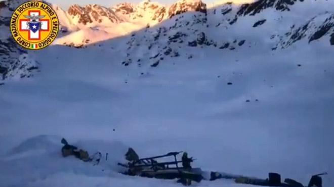Un Belge victime d'un accident d'avion dans les Alpes italiennes