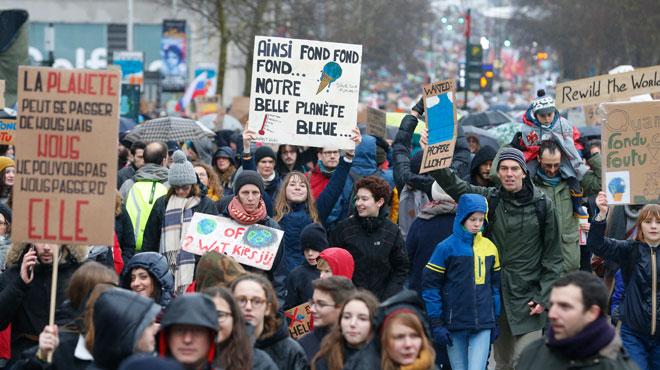 Marche pour le climat: les tunnels Léopold II et du Cinquantenaire fermés