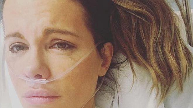 Kate Beckinsale hospitalisée: en pleurs, l'actrice raconte ce qui lui est arrivé (photo)