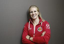 Championnats de la VAL en salle - Aurélie De Ryck bat le record de Belgique du saut à la perche