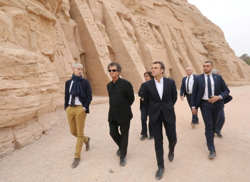 Egypte: Macron va parler