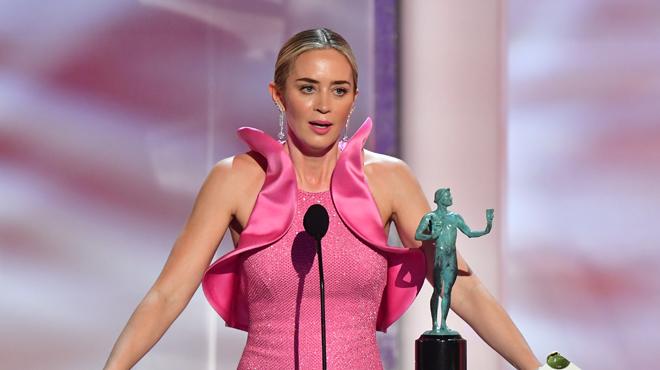 Emily Blunt sacrée aux SAG Awards pour son rôle dans le film