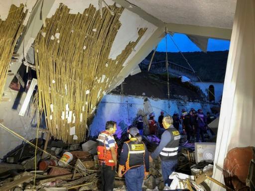 Torrent de boue au Pérou: au moins 15 morts dans un hôtel