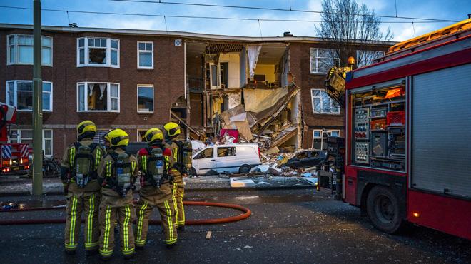 Une maison éventrée aux Pays-Bas suite à une explosion: 9 personnes sont blessées