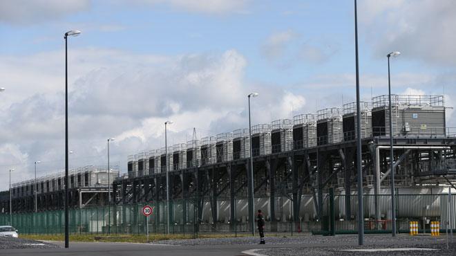 Travail au noir sur le chantier Google à Baudour: la cantine est fermée
