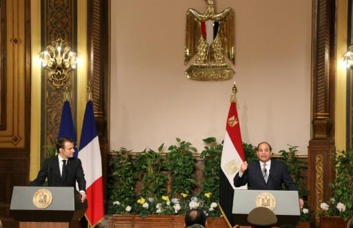 Macron à Sissi: la