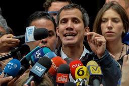 Crise au Venezuela - Juan Guaido annonce prendre le contrôle des actifs du Venezuela à l'étranger