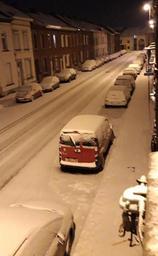 Jusqu'à 15 centimètres de neige par endroits mardi