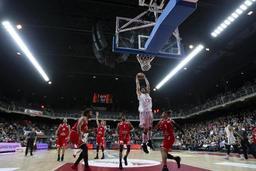 Ligue des Champions de basket - Anvers bat Dijon 67-63 et se qualifie pour le top 16