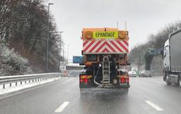 Phase de pré-alerte sur les routes en Wallonie