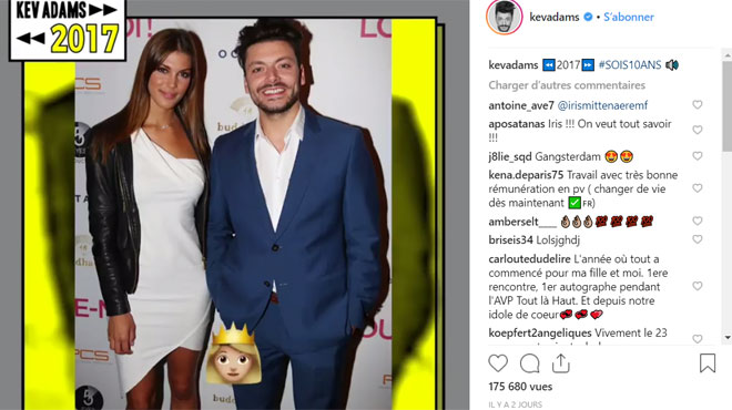 Kev Adams évoque sa relation avec Iris Mittenaere sur Instagram (vidéo)