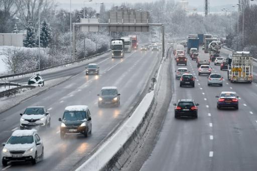 Moselle: retour à la normale sur l'A31 perturbée par la neige