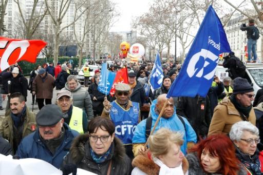 Plusieurs milliers de retraités dans les rues pour leur pouvoir d'achat