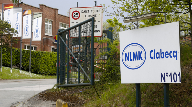 Mouvement de grogne chez NLMK Clabecq: les syndicats dénoncent