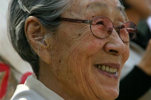 L'ultime hommage des Sud-Coréens à Kim Bok-dong, ancienne