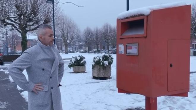 Une boîte aux lettres pour GÉANTS à Wanze: