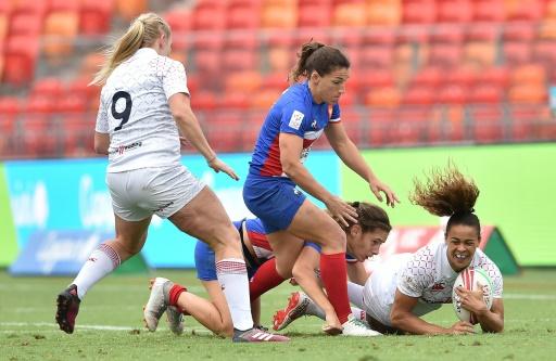 Rugby à VII: les Françaises face aux Australiennes en quarts à Sydney