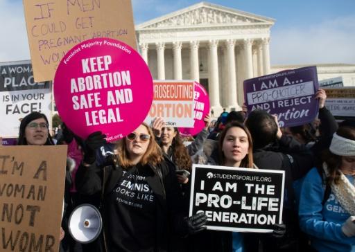 Avortement: la Cour suprême des Etats-Unis repousse l'heure du test