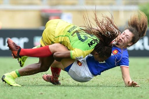 Rugby à VII: les Françaises s'arrêtent en quarts de la 3e étape du circuit mondial