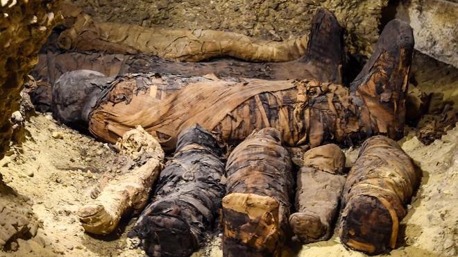 L'Egypte dévoile des momies de plus de 2000 ans en