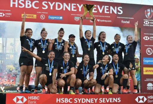 Rugby à VII: les Néo-Zélandaises intouchables