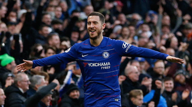 Le nouveau match de FOLIE d'Eden Hazard avec Chelsea (vidéo)
