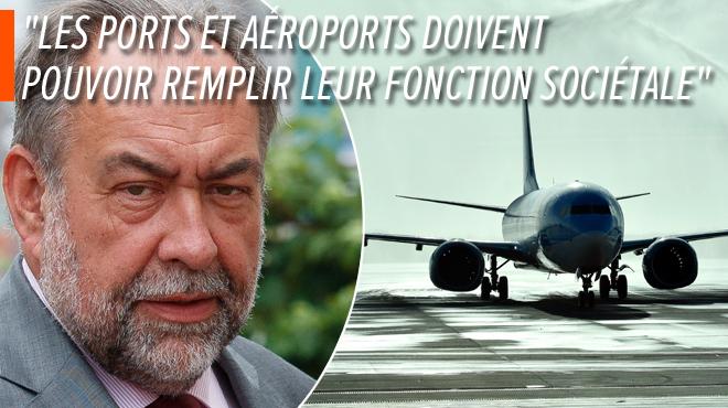 Réchauffement climatique: le patron de l'aéroport de Bruxelles préconise une taxe mondiale sur le kérosène