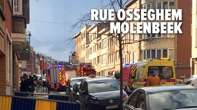 Une machine à laver prend feu dans une cave à Molenbeek: trois personnes intoxiquées