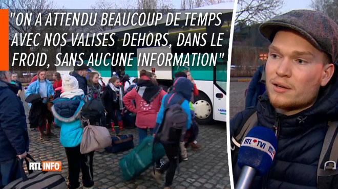 Les étudiants bloqués dans une station de ski en France enfin de retour en Belgique: