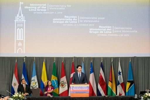 Trudeau annonce une aide de 53 millions de dollars pour les Vénézuéliens