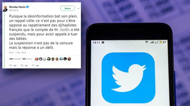 Un ancien otage de l'EI menacé de mort sur Twitter après avoir signalé le compte du père d'une victime du Bataclan
