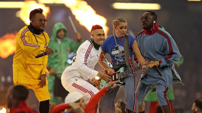 Les Black Eyed Peas aux Ardentes à Liège